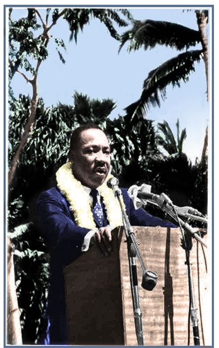 Martin Luther King speaks at UH.